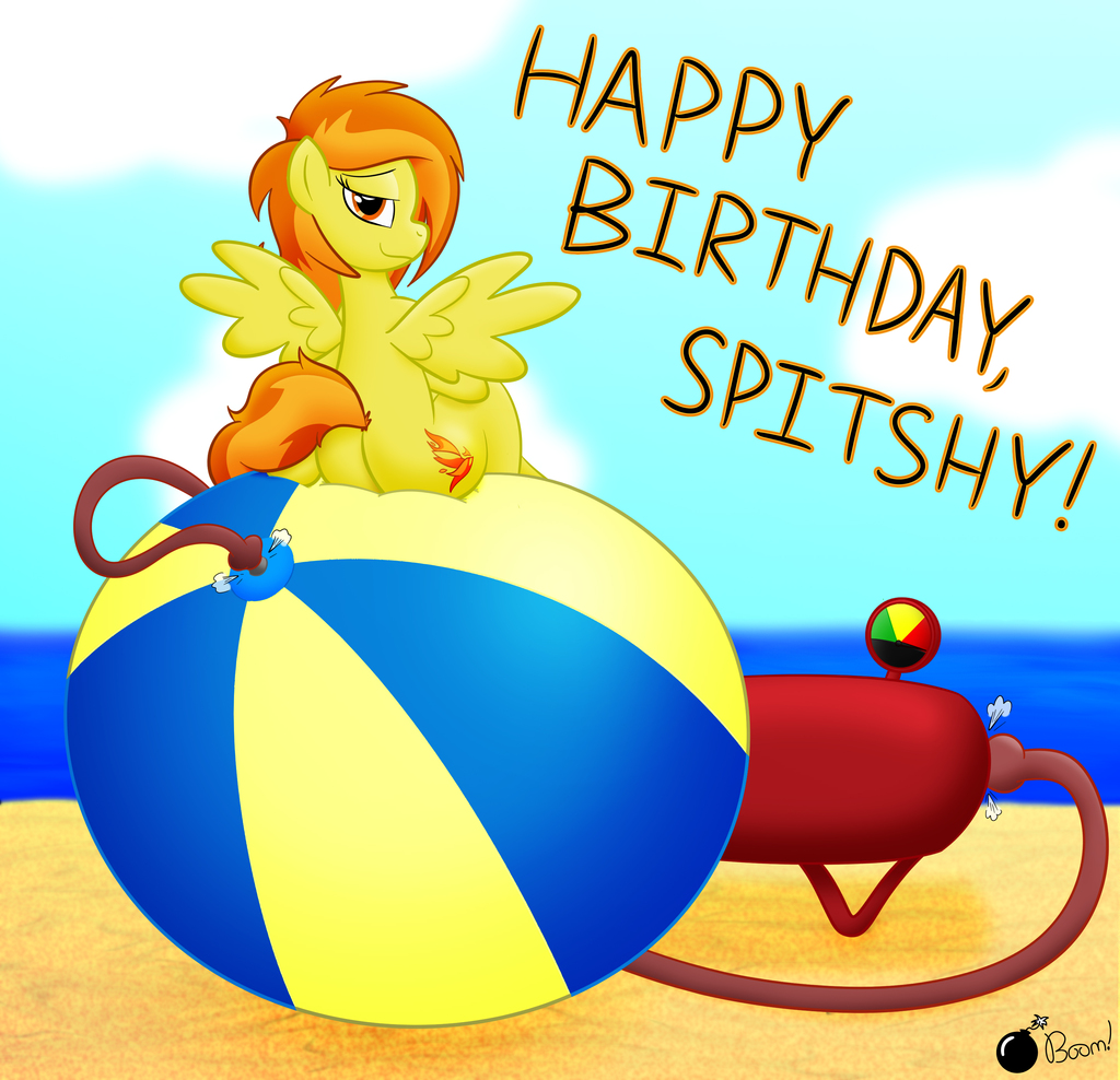 Birthday Blowout for Spitshy