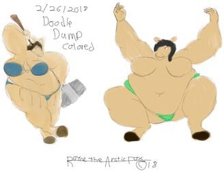 doodle dump 5-26-2018 colored edition