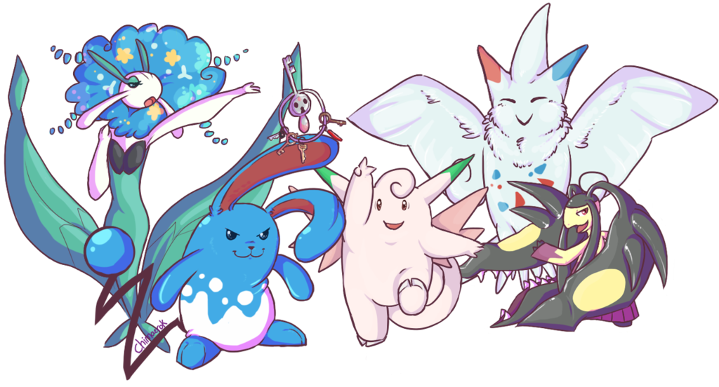 fairy gym team