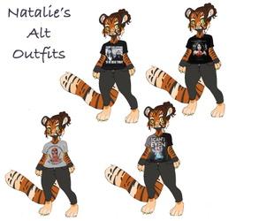 Natalie's Alt Outfits