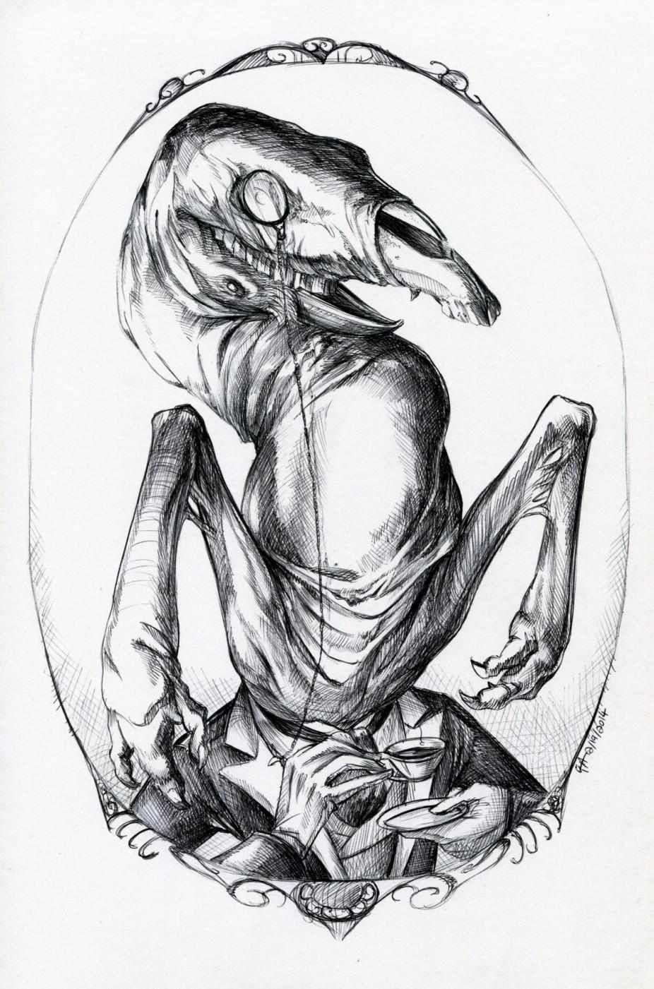 :Commission: Portrait of a Gentleman
