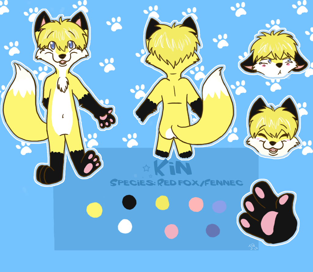 Most recent image: Kin Ref Sheet