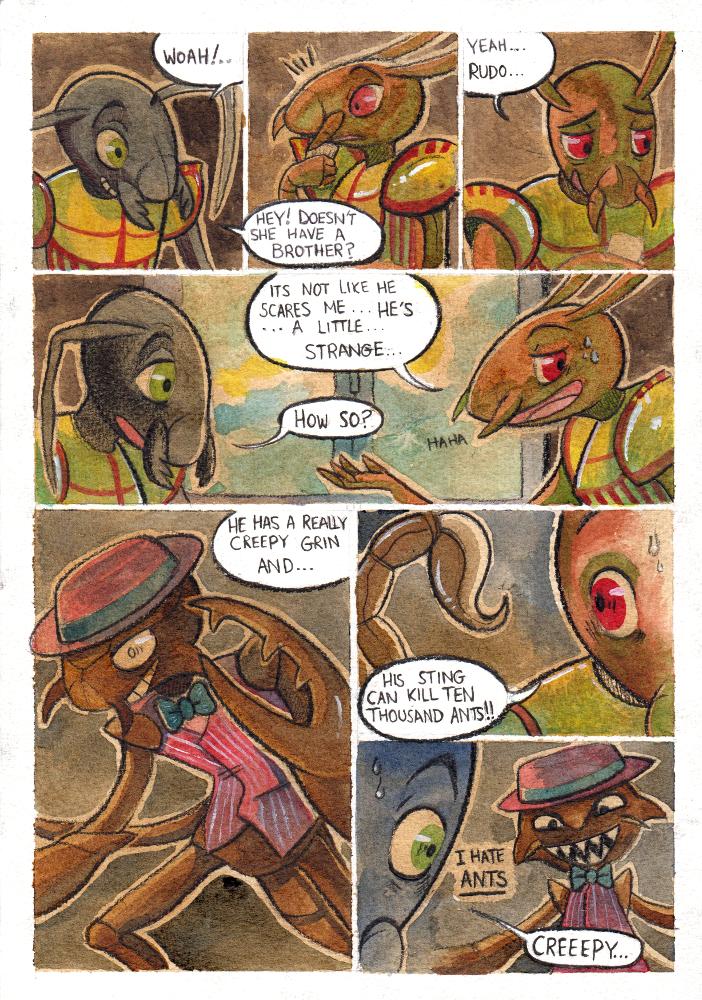:Respicio: Downtime - Page Two