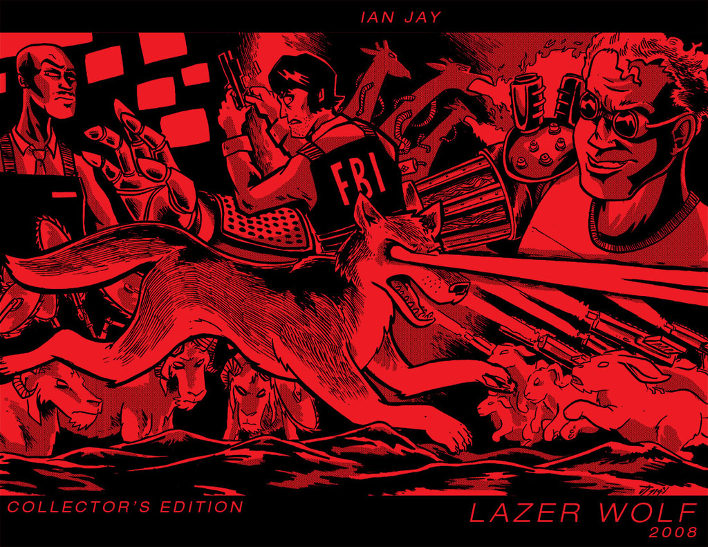 LAZER WOLF: COLLECTOR'S EDITION