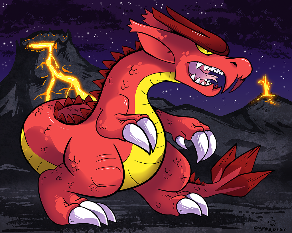 Featured image: Fire Dragon