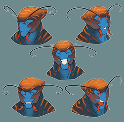 Expression Sheet - Izel