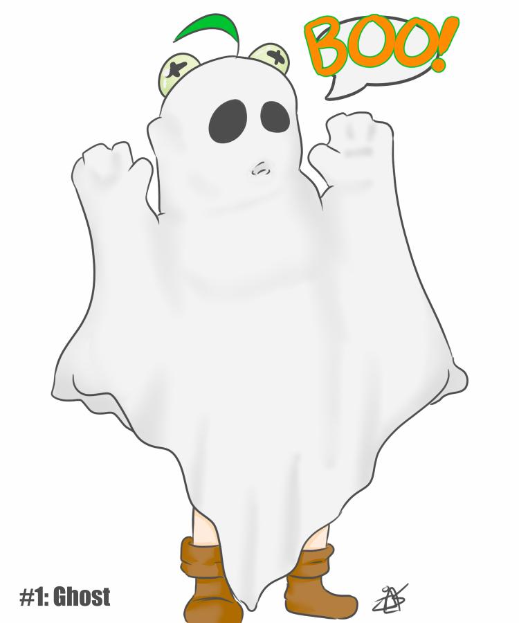 30 Day Halloween Costume Challenge - Ghost