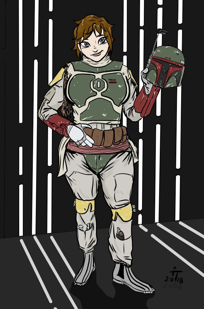 Boba Outfitted