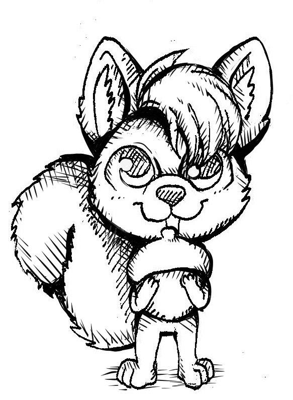 Trevor Blue Squirrel 6