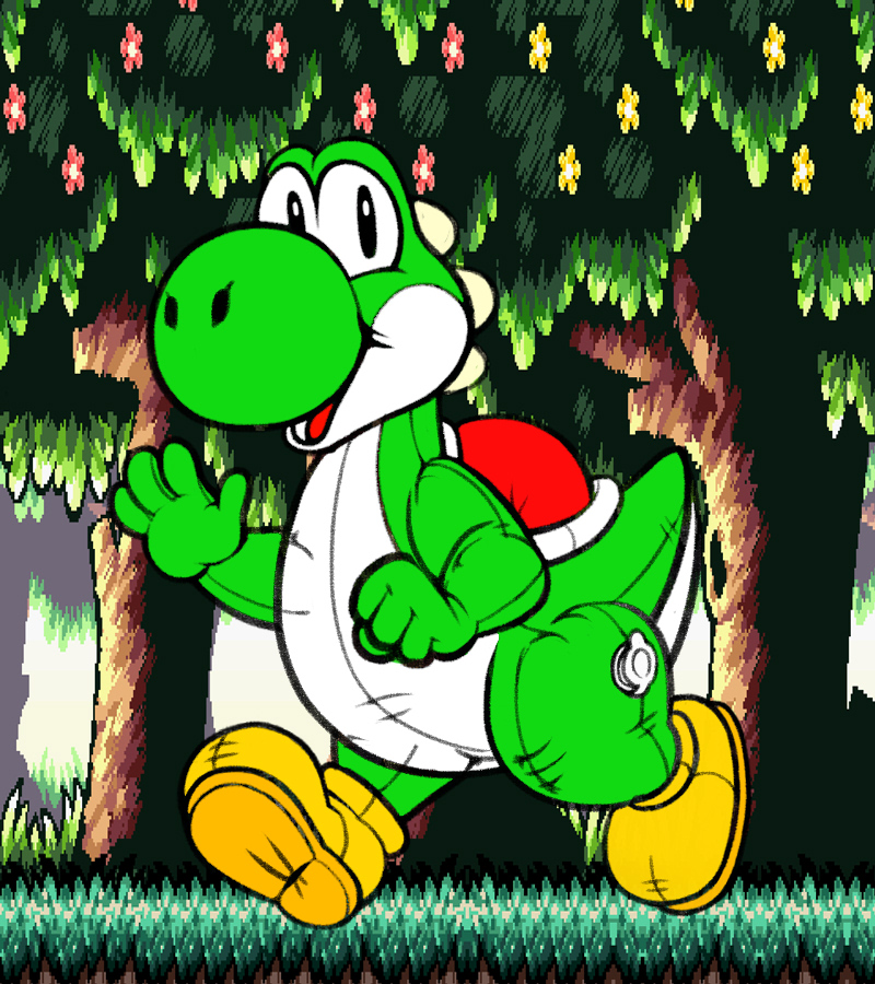JasonTheYoshi ( pool toy)