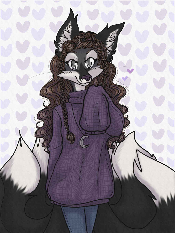 Most recent image: Purple Sweater