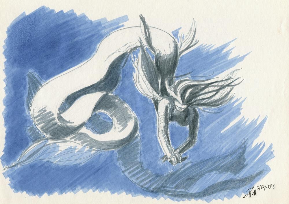 Inktober #11: Pella sketch