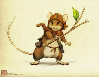 [Fanart] Ghost of a Tale - Mouse Hero