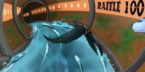 Dragon raffle 100