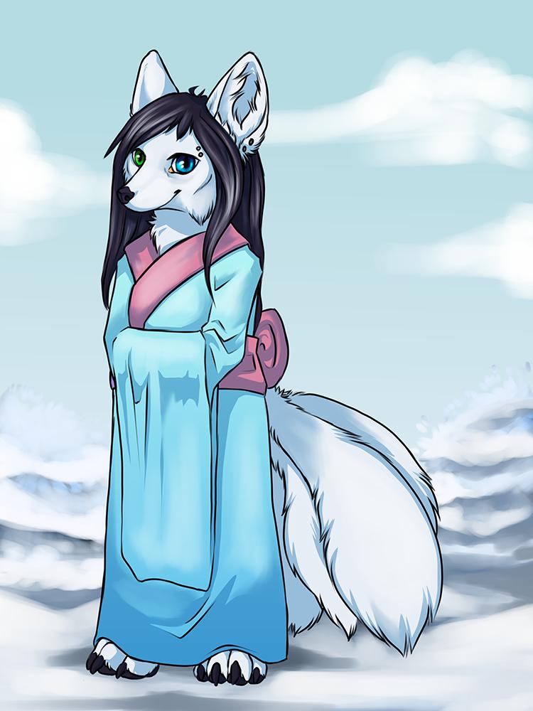 Frosty Kitsune