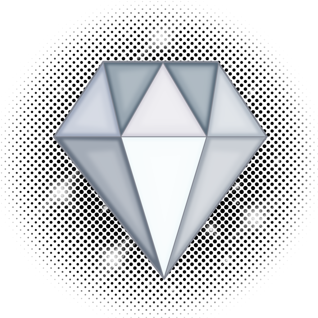 White Diamond Gem