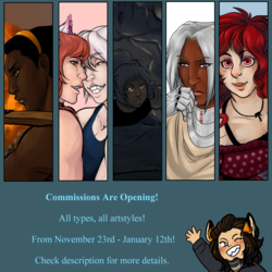 Commissions Are Opening!