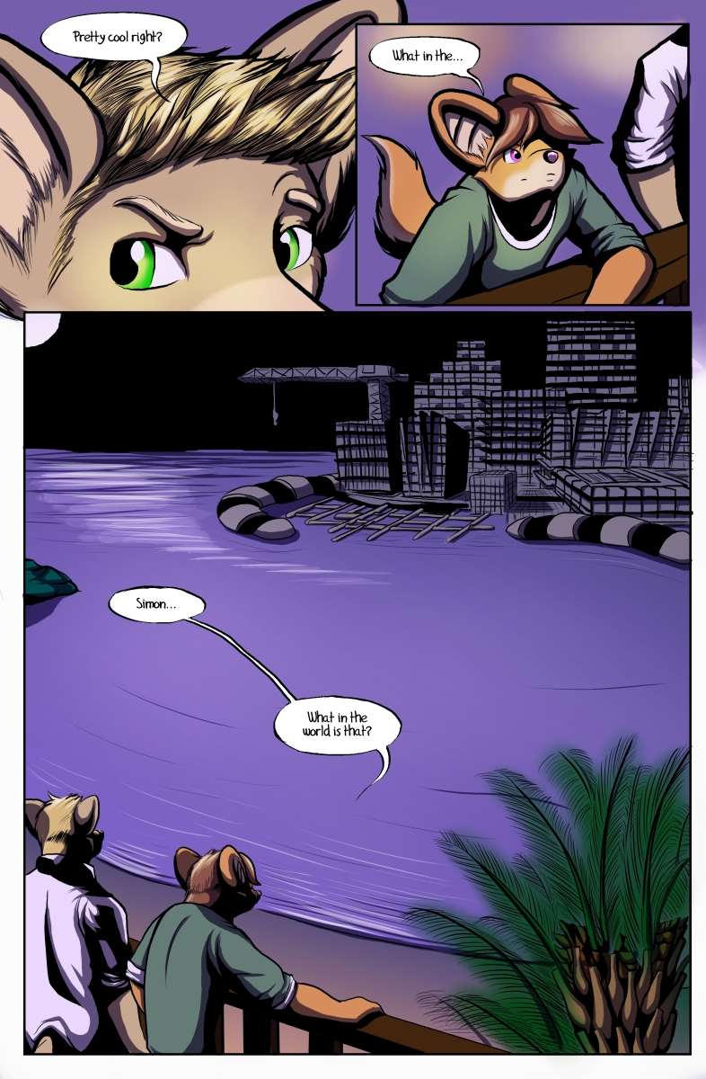 Most recent image: False Start Comic Issue #1 Page 16