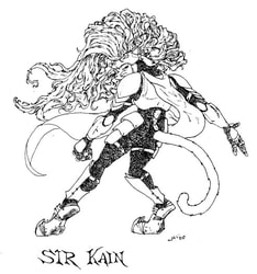 [Old Art] Sir Kain by Iron Raptor