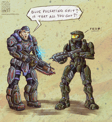 Halo vs. GoW