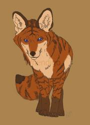 Sketchy Foxy - Art by Whendigo
