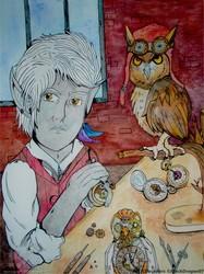 The clocksmith ...