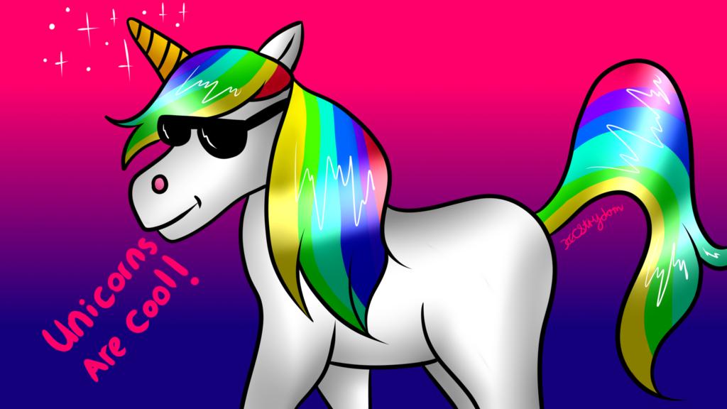 Speedpaint - Cool Unicorn