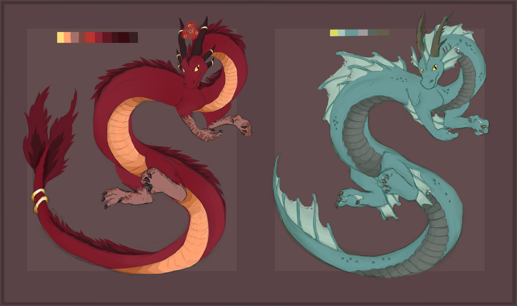 Noodle Dragon Designs