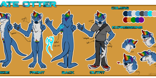 New Nate Reference Sheet(v2) [Commission]