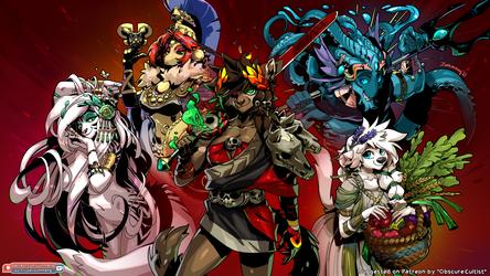 The Hades Gang - Patreon Vote Winner [4K Wallpaper]