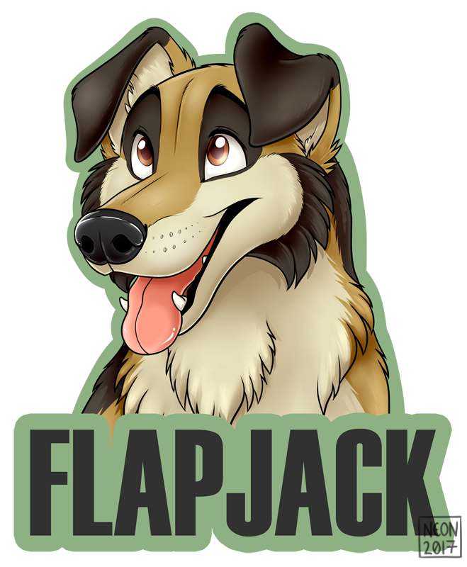 [Commission] Flapjack Badge