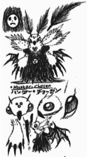 [Kaijin-Doodles] Hunter-Chosen doodles