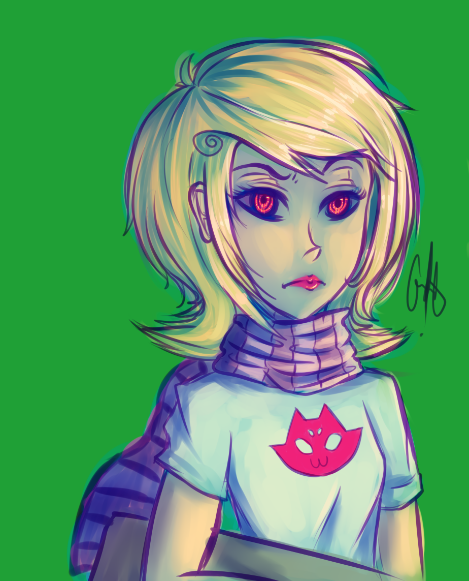 Roxy speedpaint