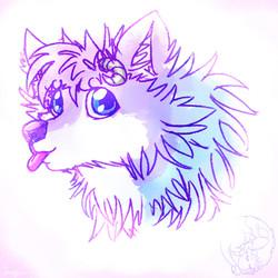 Tammy Dragan Wolf Doodle