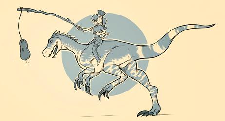 Ridin' Dinosaurs
