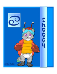 Babyfur Zodiac II: Cancer - Shoogy ( diaper )