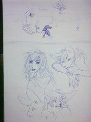last sketch so far...