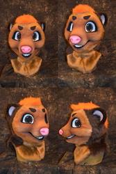 Trick the Bear/Ferret Head