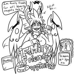 Family Friendly Sapphirus +#2 logo+