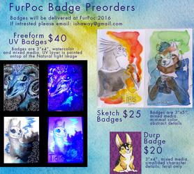FurPoc 2016 Badge Preorders OPEN