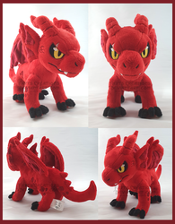 MHA AU Kirishima dragon Comm