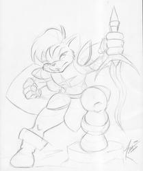 "[Old Art] Sir Kain by ""Alex"""