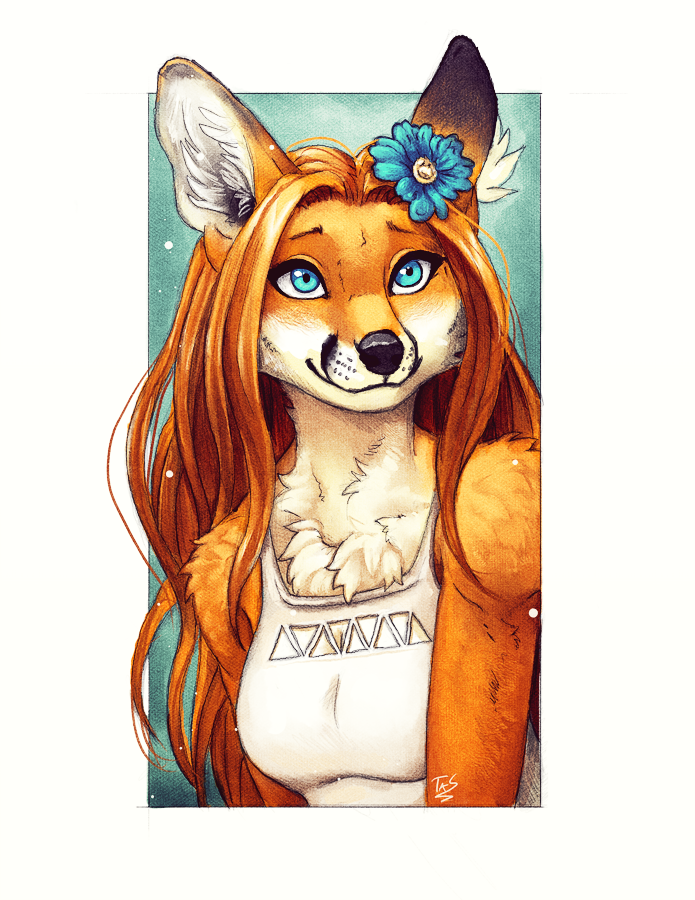 Foxie Portrait