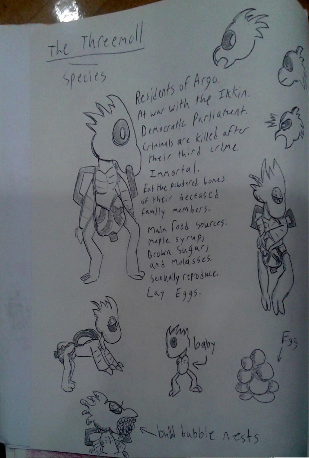 The Threemoll (Alien Species)
