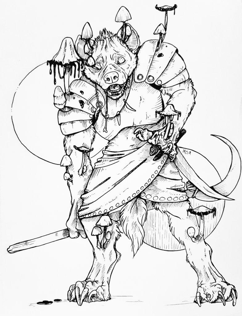 Commission - Bitzawolf