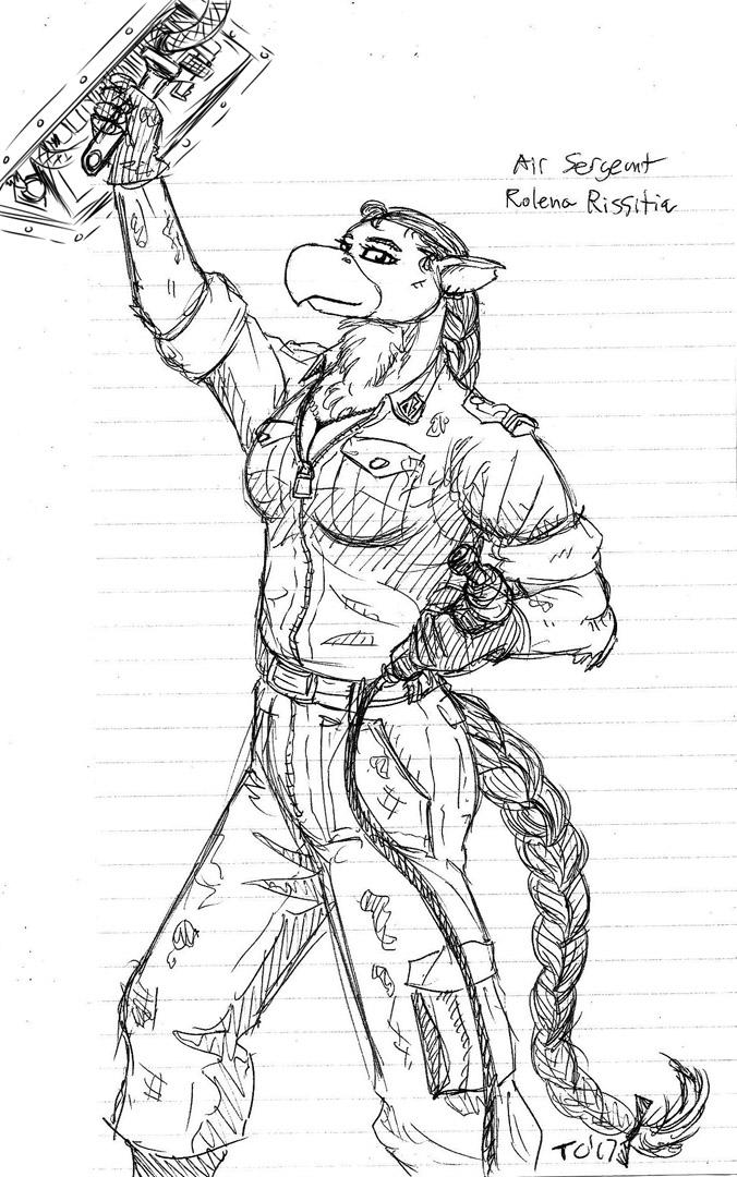 Air Sergeant Rissitia