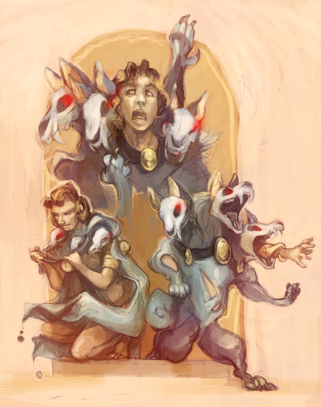 Most recent image: Com: Three Headed Evils