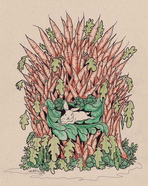 Carrot Throne