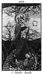 tarot - æon - birth + death
