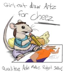 Girl-rat took over my Facebook again!